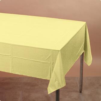 Tischdecke 137 x 274 cm-gelb