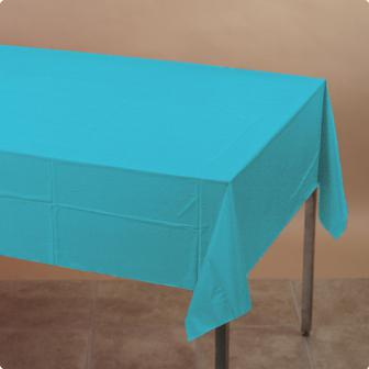 Tischdecke 137 x 274 cm-karibik-blau