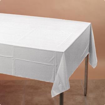 Tischdecke 137 x 274 cm-weiß