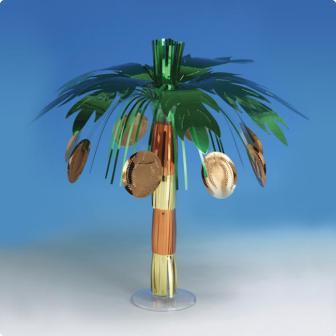 """Tischdeko """"Tropische Palme"""" 45 cm"""