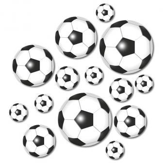 """Tischdeko XXL Konfetti """"Fußballfieber"""" 42-tlg."""