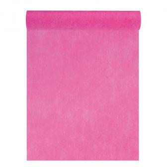 """Tischläufer Deko-Vlies """"Edle Tafel"""" 0,3 x 10 m-pink"""