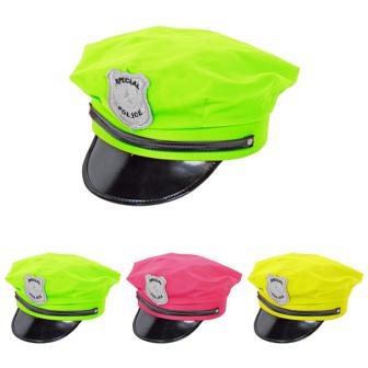 """UV Leucht-Mütze """"Polizist"""""""