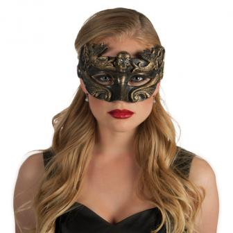 """Venezianische Maske """"Mystische Nacht"""" 25 cm"""
