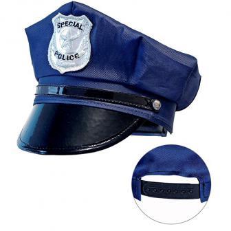 Verstellbare Polizei-Mütze für Kinder