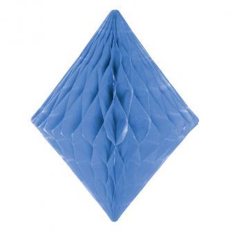Wabenpapier-Diamant 30 cm-blau