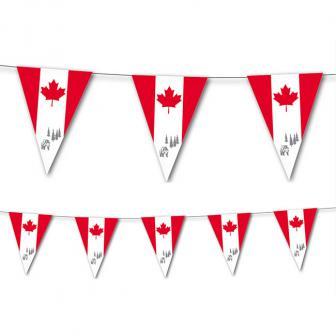 "Wimpel-Girlande ""Kanada"" 3,5 m"