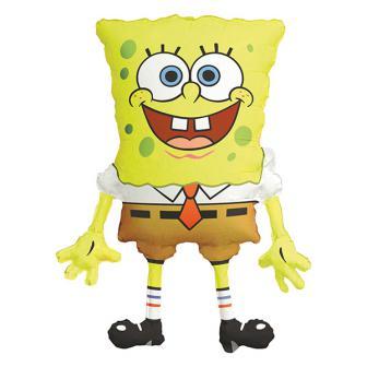 """XL Folienballon """"Spongebob Schwammkopf"""" 71 cm"""