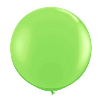 XL Luftballon einfarbig-apfelgrün