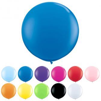 XL Luftballon einfarbig