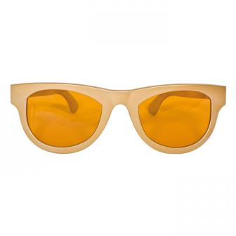 XXL-Partybrille Blues Brother - gold