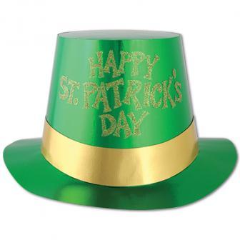 "Zylinder ""Happy St. Patrick's Day"""