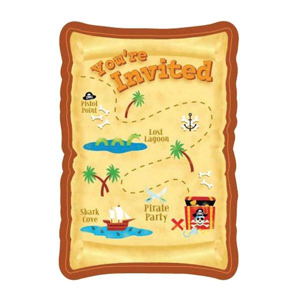 einladungskarten jake und die nimmerland piraten – cloudhash, Einladungsentwurf