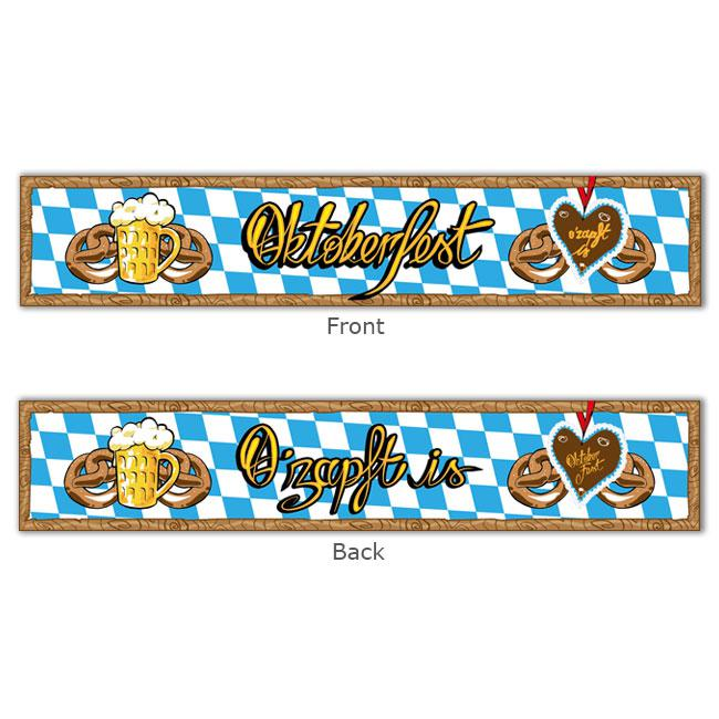 banner oktoberfest 13 x 70 cm g nstig kaufen bei. Black Bedroom Furniture Sets. Home Design Ideas