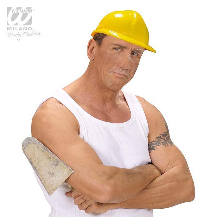 Bauarbeiter zeichnung  Bauarbeiter-Helm günstig kaufen bei PartyDeko.de