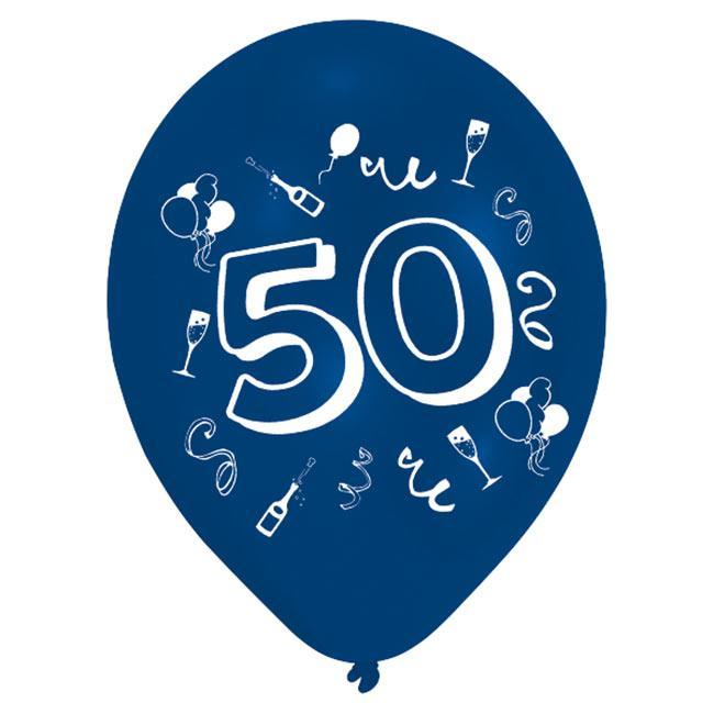 50 geburtstag party deko