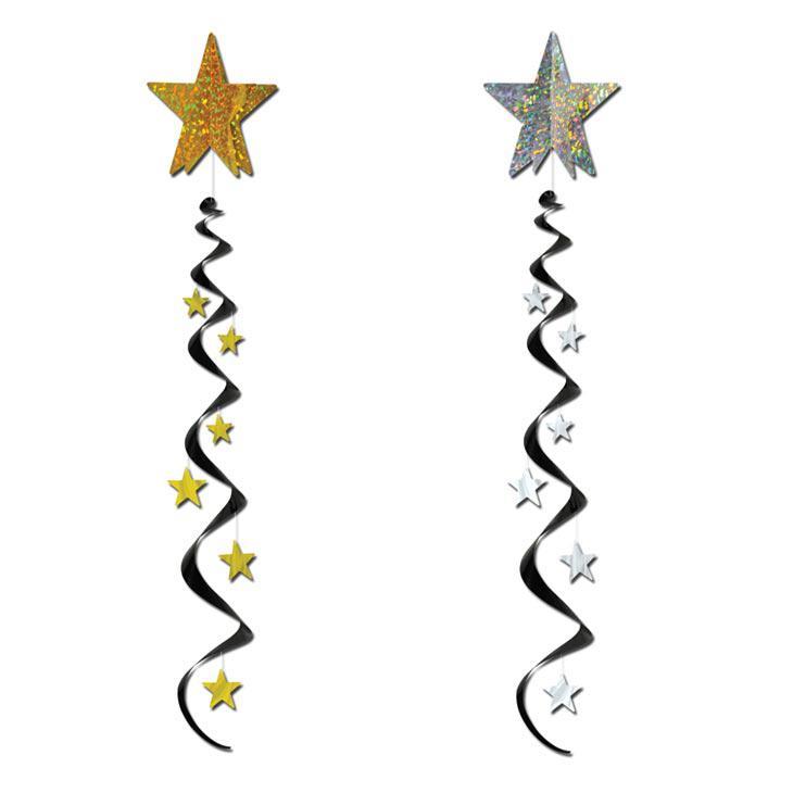Deckendeko Sternen-Wirbel 122 cm günstig kaufen bei PartyDeko.de