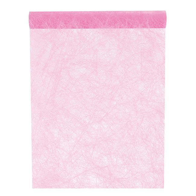 einfarbiger deko vlies tischl ufer 5 m rosa g nstig kaufen bei. Black Bedroom Furniture Sets. Home Design Ideas