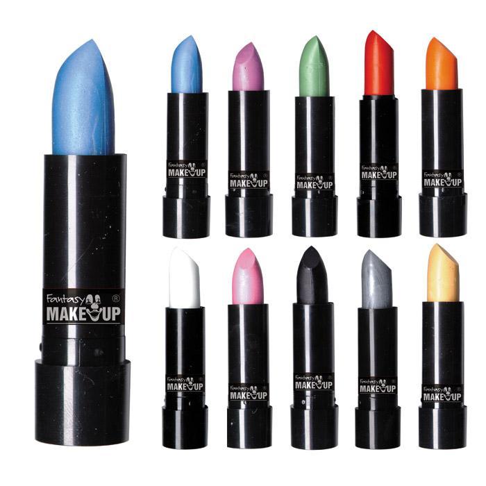 Joan Smalls mit Lipstick in Schwarz