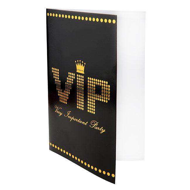 """Einladungskarten VIP """"Very important Party"""" 10er Pack günstig kaufen ..."""
