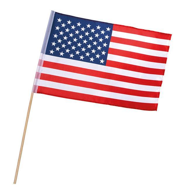 Fahne mit Stab \