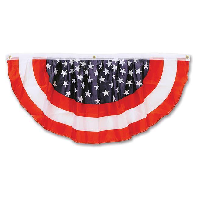 Fahnen tuch f cher usa 122 cm g nstig kaufen bei for Amerikanische deko
