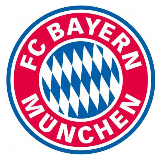 fan aufkleber fc bayern m nchen logo 5 8 cm g nstig. Black Bedroom Furniture Sets. Home Design Ideas