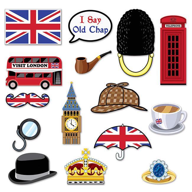 Foto accessoires london calling 15 tlg g nstig kaufen for Site deco anglais