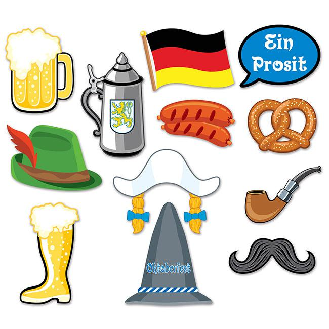 foto requisiten set oktoberfest 12 tlg g nstig kaufen bei. Black Bedroom Furniture Sets. Home Design Ideas