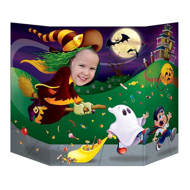 Halloween Fotowand.Fotowand Halloween Nacht 94 X 64 Cm Gunstig Kaufen Bei