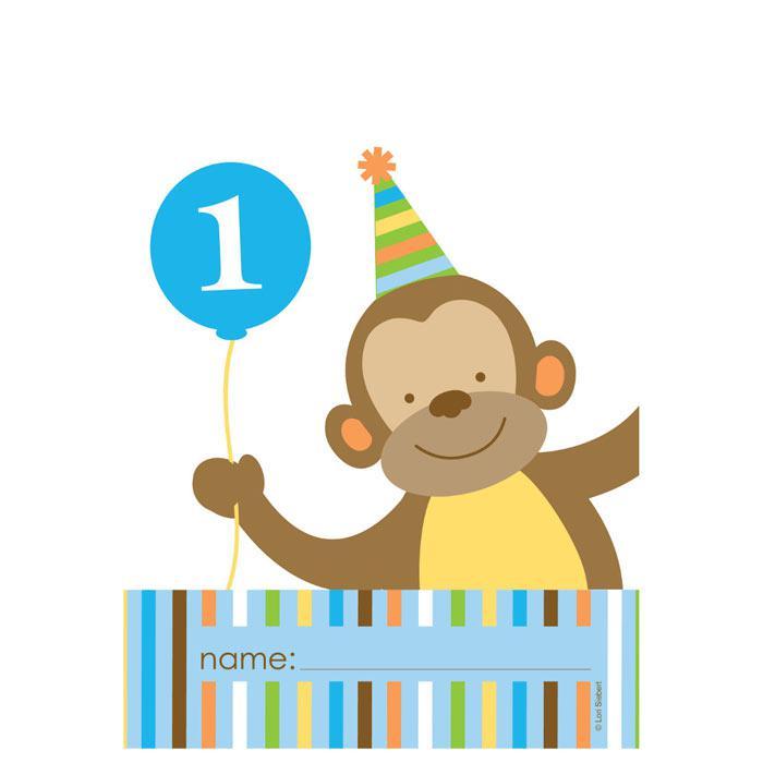 Geschenk Tutchen Tierischer 1 Geburtstag Jungen 8er Pack Gunstig