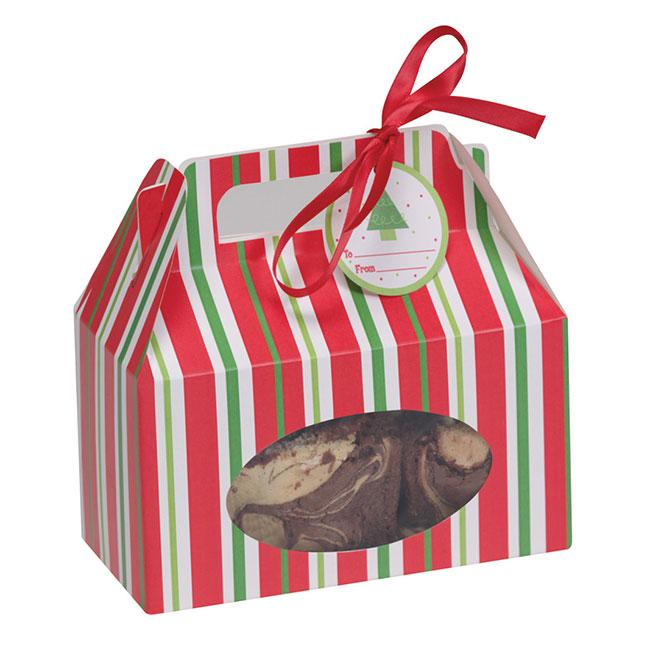 Geschenkbox Weihnachten.Geschenkboxen Weihnachten 4er Pack Günstig Kaufen Bei Partydeko De