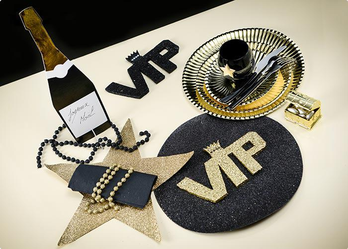 glitzer schriftzug vip very important party 22 cm g nstig kaufen bei. Black Bedroom Furniture Sets. Home Design Ideas