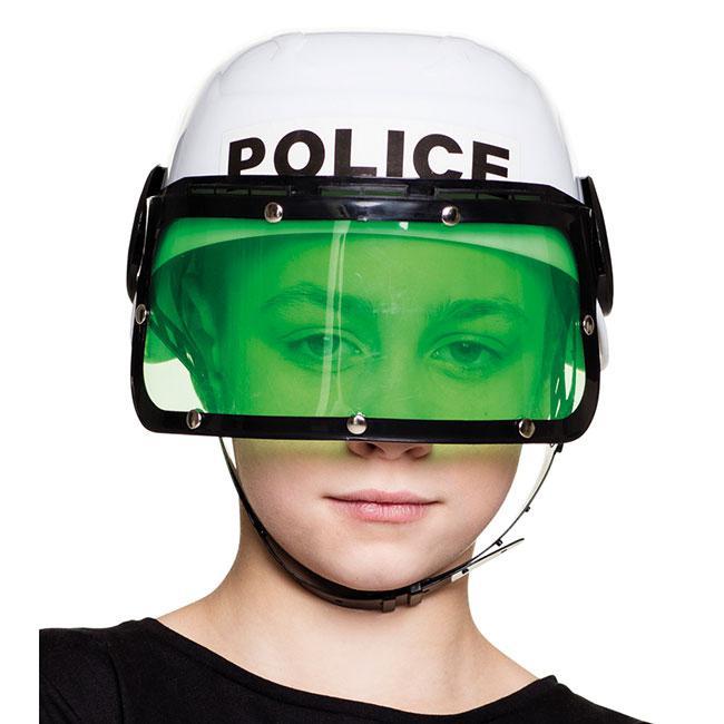 helm f r kinder polizei mit visier g nstig kaufen bei. Black Bedroom Furniture Sets. Home Design Ideas