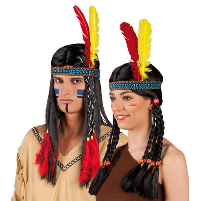 indianer stirnband mit federn 26 cm g nstig kaufen bei. Black Bedroom Furniture Sets. Home Design Ideas
