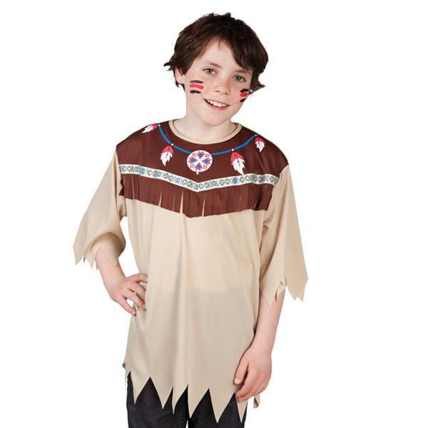 Kinder Kostum Indianer Oberteil Gunstig Kaufen Bei Partydeko De