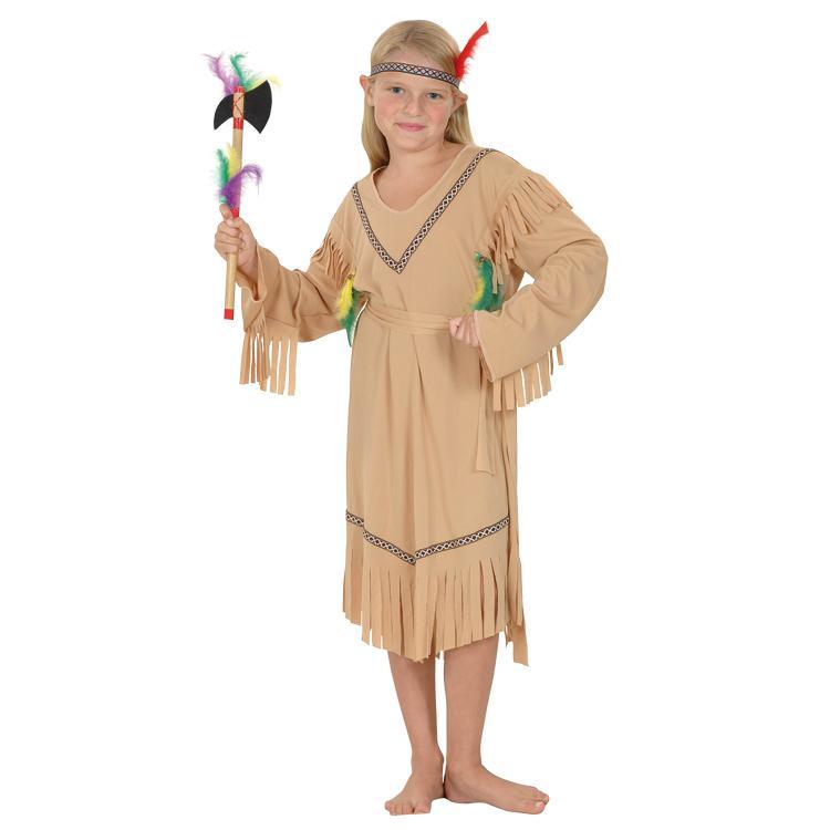 Kinder Kostum Indianer Squaw 3 Tlg 7 9 Jahre Gunstig Kaufen Bei