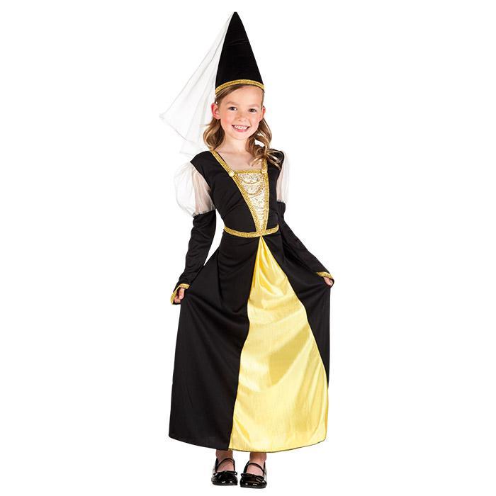 Kinder Kostum Kleines Burgfraulein 2 Tlg Gunstig Kaufen Bei