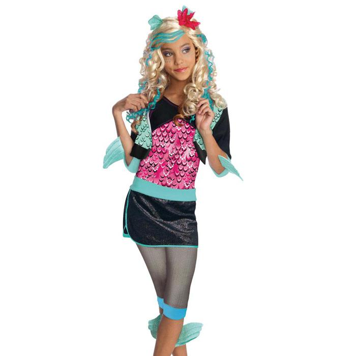 Kinder Kostum Monster High Lagoona Blue 7 Tlg Gunstig Kaufen Bei