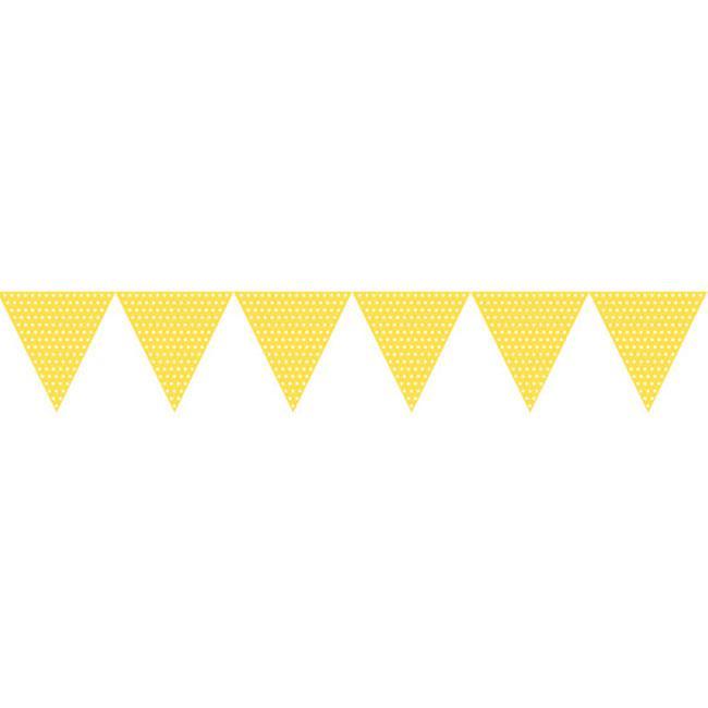 Kleine Wimpel Girlande Happy Dots  Cm Gunstig Kaufen