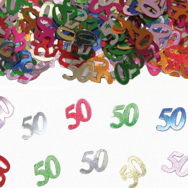 Konfetti 50 geburtstag 15 g g nstig kaufen bei for 50 geburtstag dekoration