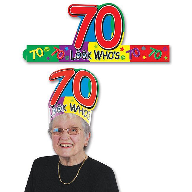 Kopfschmuck 70 Geburtstag Gunstig Kaufen Bei Partydeko De