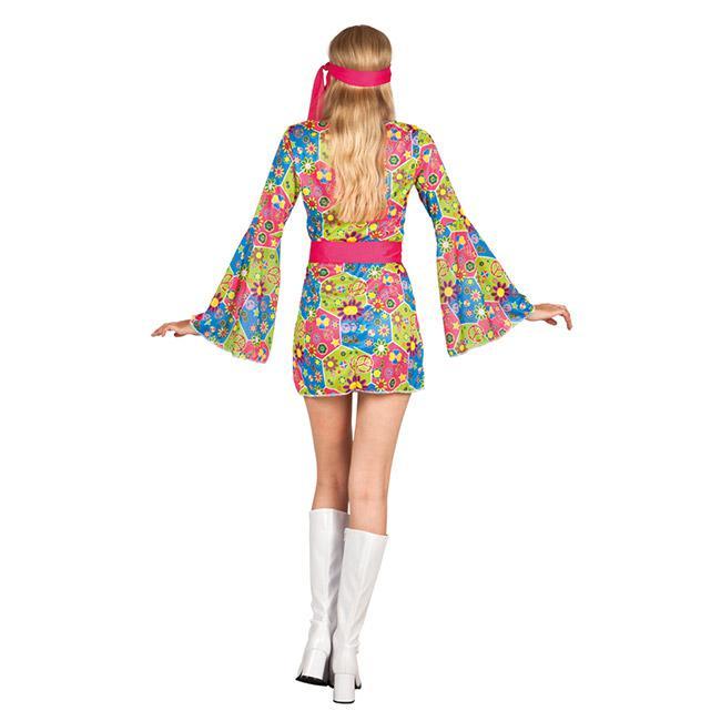kost m flower power hippie party 3 tlg g nstig kaufen. Black Bedroom Furniture Sets. Home Design Ideas