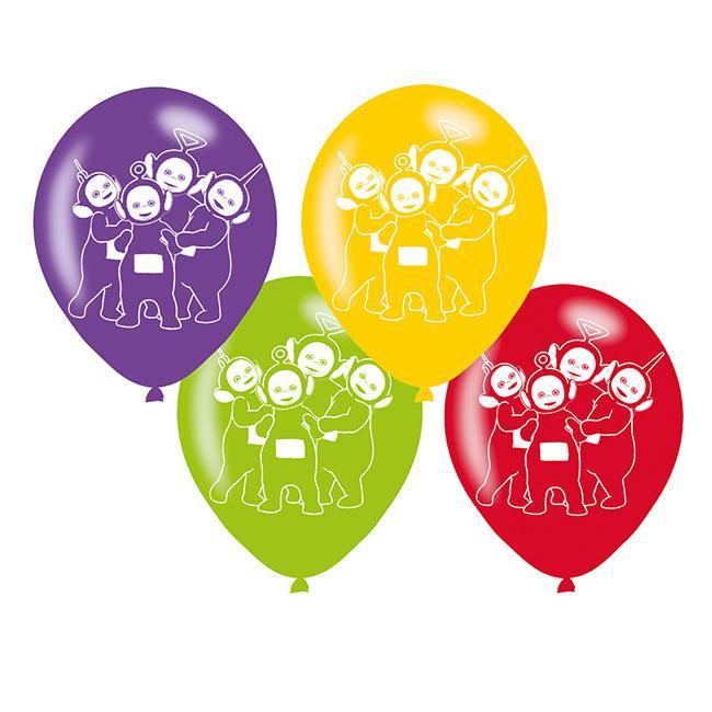 "Luftballons /""Die Teletubbies/"" 6er Pack"