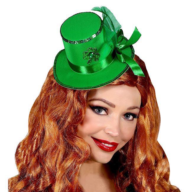 Patrick/'s Day mit Haarspangen Mini-Hütchen St