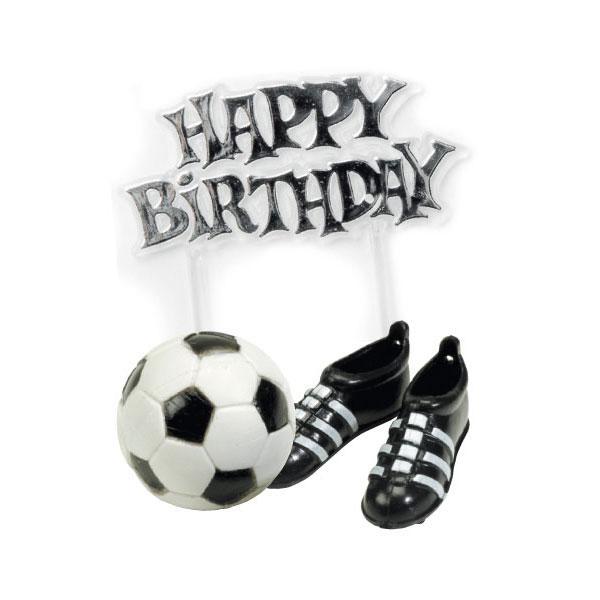 Kuchendeko Fussball Zum Geburtstag 4 Tlg Gunstig Kaufen