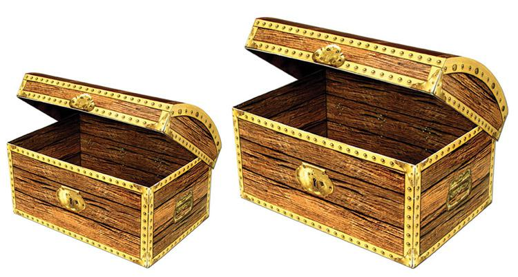 pappbox schatztruhe g nstig kaufen bei. Black Bedroom Furniture Sets. Home Design Ideas