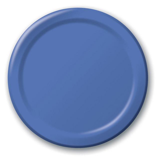Pappteller 24er pack g nstig kaufen bei for Pappteller blau