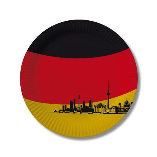Pappteller Deutschland Berlin 10er Pack G Nstig Kaufen