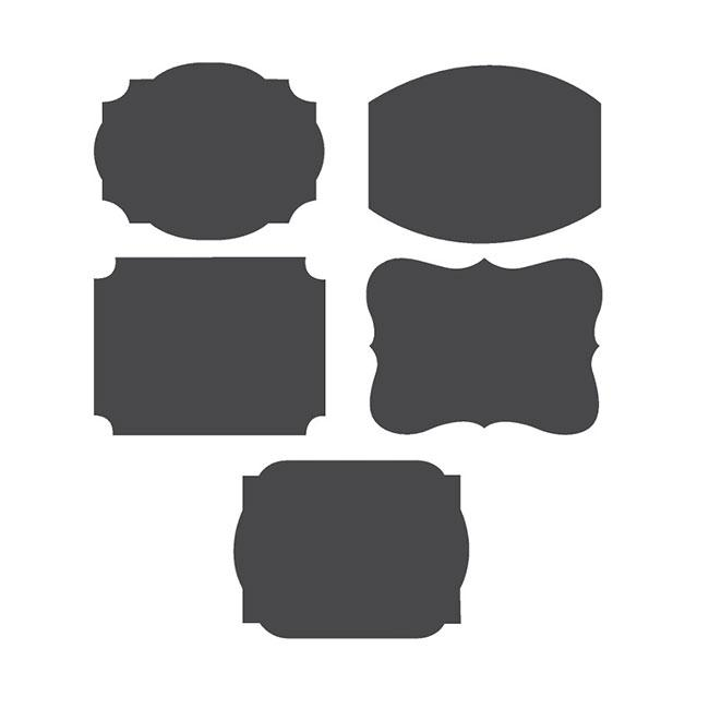 personalisierbare tafel sticker mit kreide 11 tlg g nstig. Black Bedroom Furniture Sets. Home Design Ideas